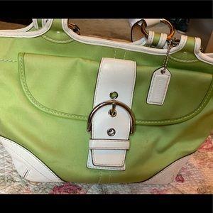 Coach boho handbag